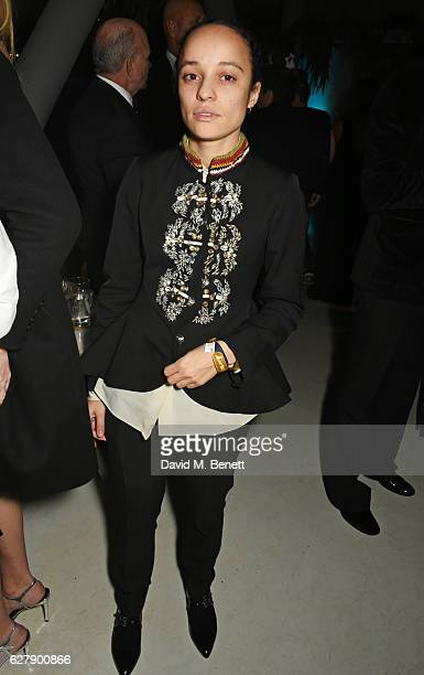 Grace Wales Bonner attends The Fashion Awards 2016 after party hosted by The British Fashion Council at 180 The Strand on December 5 2016 in London...