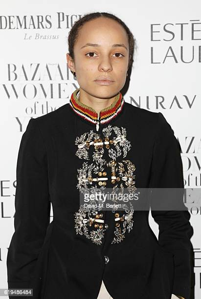 Grace Wales Bonner attends the Harper's Bazaar Women of the Year Awards 2016 at Claridge's Hotel on October 31 2016 in London England
