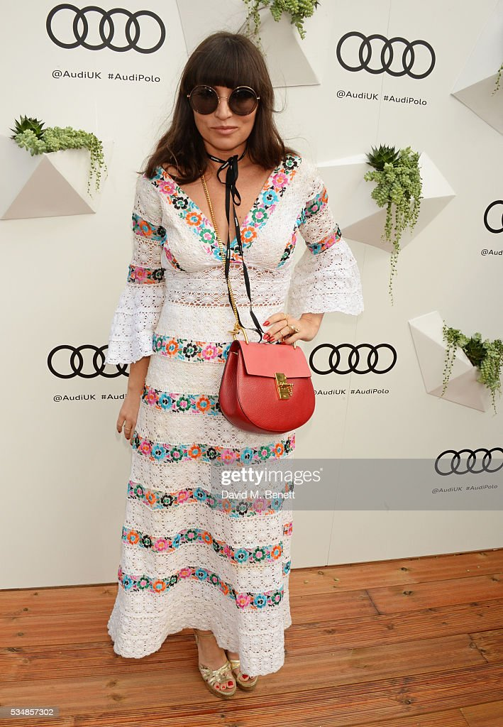Grace Woodward attends day one of the Audi Polo Challenge at Coworth Park on May 28, 2016 in London, England.