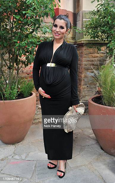 Grace Woodward attends the Carrera Ignition Night at The House of St Barnabas on June 20 2013 in London England