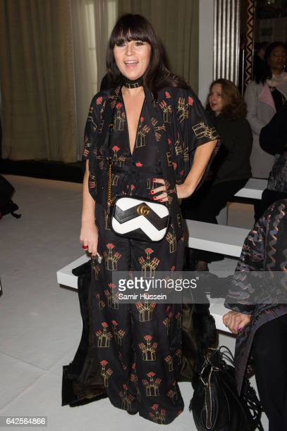 Grace Woodward attends the Jasper Conran show during the London Fashion Week February 2017 collections on February 18 2017 in London England