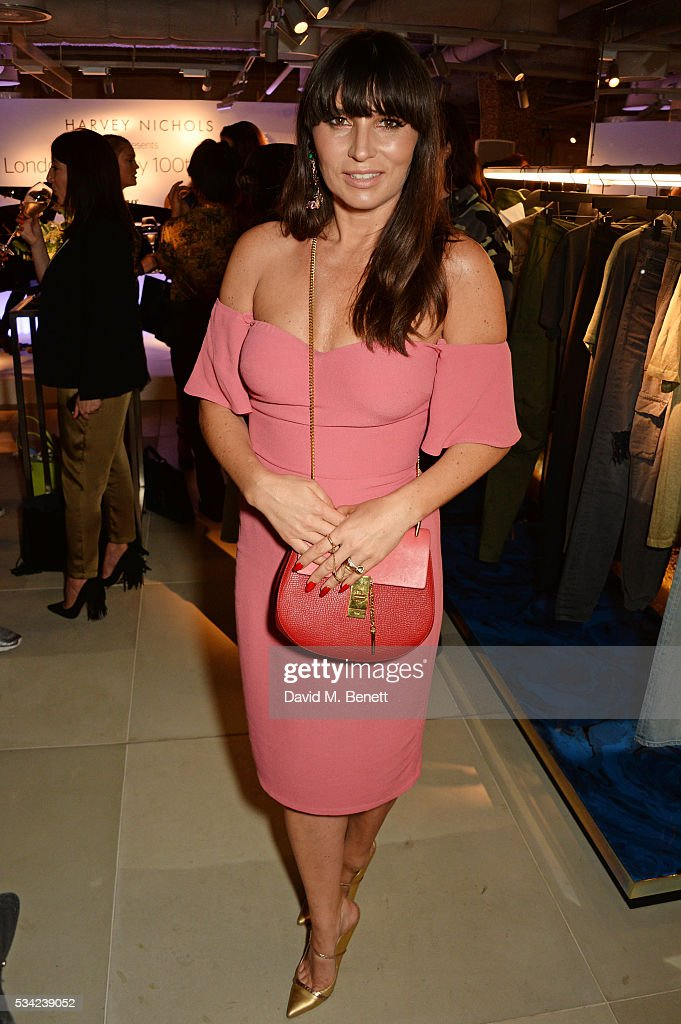 Grace Woodward attends the London Evening Standard Londoner's Diary 100th Birthday Party in partnership with Harvey Nichols at Harvey Nichols on May 25, 2016 in London, England.