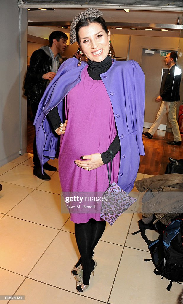 Grace Woodward attends the Panasonic Technics 'Shop To The Beat' Party hosted by George Lamb at French Connection, Oxford Circus, on March 13, 2013 in London, England.