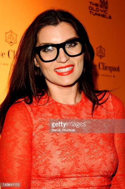 Grace Woodward attends the Veuve Clicqout Season Launch Party at Old Vic Tunnels on May 1 2012 in London England