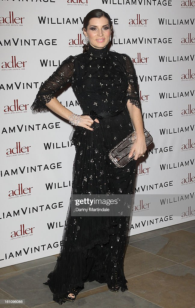 Grace Woodward attends the WilliamVintage Dinner Sponsored By Adler at St Pancras Renaissance Hotel on February 8, 2013 in London, England.