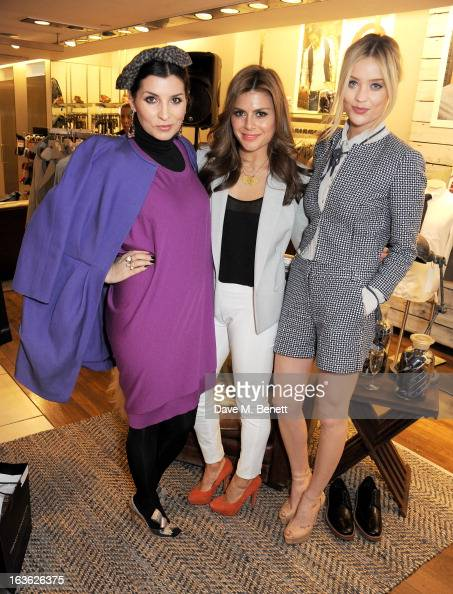 Grace Woodward Zoe Hardman and Laura Whitmore attend the Panasonic Technics 'Shop To The Beat' Party hosted by George Lamb at French Connection...