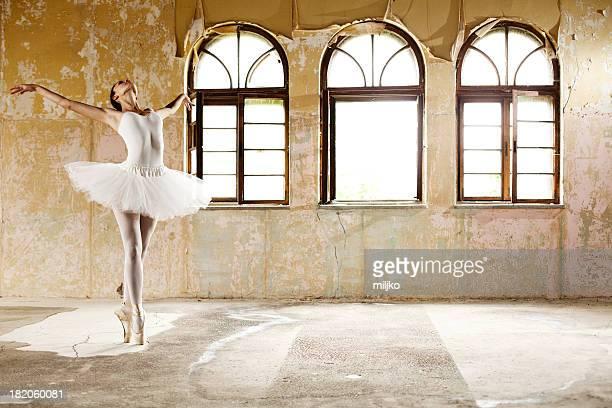 Ballerine magnifique danse
