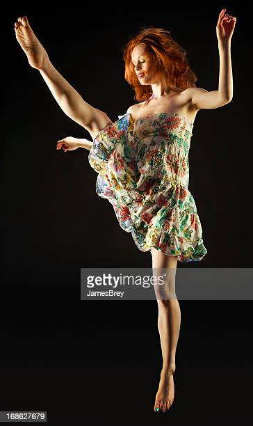 Graceful Dancer Preforming