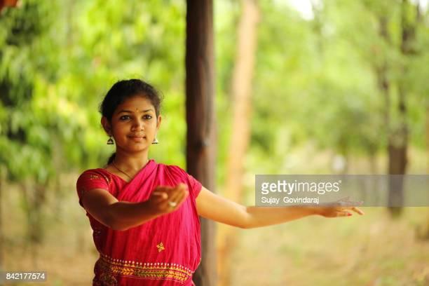 Graceful Kathak Dancer