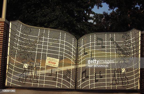 Graceland Entrance in Memphis United States on August 01 1996