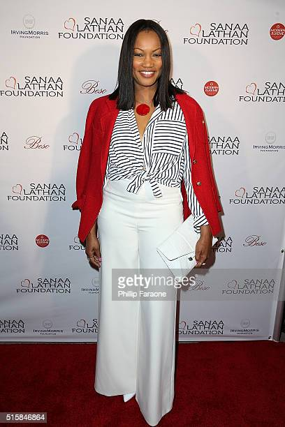 Gracelle Beauvais attends a fundraising event hosted by Sanaa Lathan at Beso on March 15 2016 in Hollywood California
