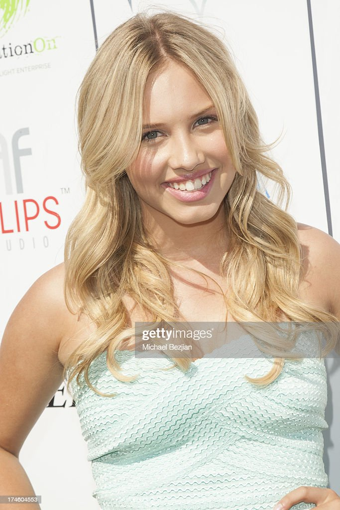 <a gi-track='captionPersonalityLinkClicked' href=/galleries/search?phrase=Gracie+Dzienny&family=editorial&specificpeople=7496505 ng-click='$event.stopPropagation()'>Gracie Dzienny</a> attends Flips Audio At Variety Power of Youth at Universal Studios Backlot on July 27, 2013 in Universal City, California.
