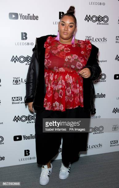 Gracie Francesca attending the Mobo Awards 2017 Nominations at the YouTube Space London