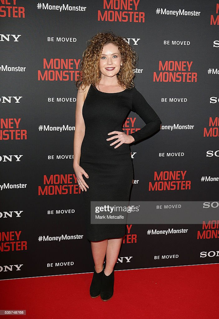 Gracie Gilbert arrives ahead of the Money Monster Australian Premiere at Event Cinemas George Street on May 30, 2016 in Sydney, Australia.
