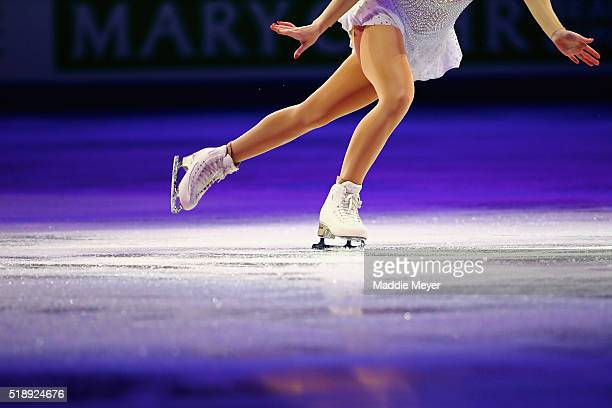 Gracie Gold of the United States performs during the Exhibition of Champions on Day 7 of the ISU World Figure Skating Championships 2016 at TD Garden...