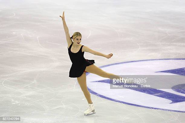 Gracie Gold of USA competes during Ladies short program at the ISU Figure skating Grand Prix Final 20152016 at the Barcelona Convention Centre in...
