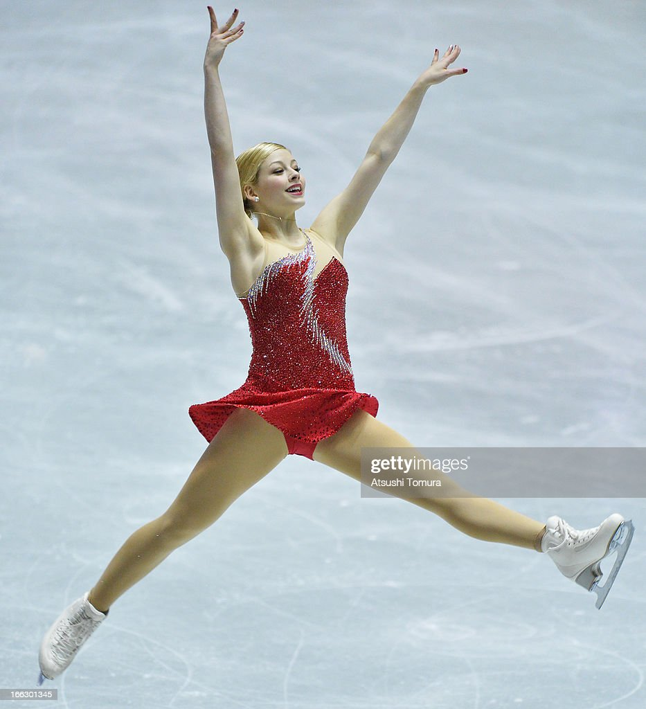 Gracie Gold of USA competes in the ladies's short program during day one of the ISU World Team Trophy at Yoyogi National Gymnasium on April 11, 2013 in Tokyo, Japan.