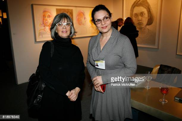 Gracie Mansion and Ruth Phaneuf attend The 2010 ADAA Art Show at Park Avenue Armory on March 2 2010 in New York City