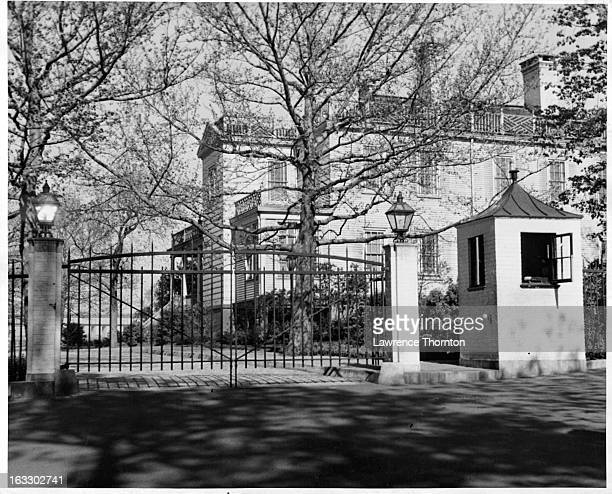 Gracie Mansion in New York City 1955