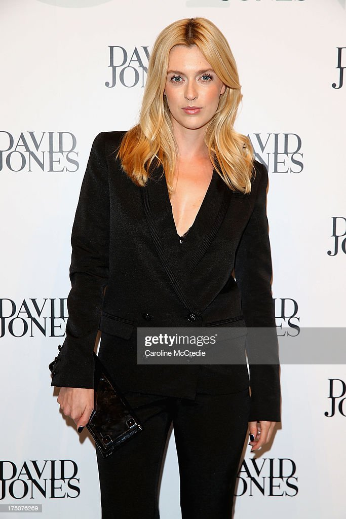 Gracie Otto arrives at the David Jones Spring/Summer 2013 Collection Launch at David Jones Elizabeth Street on July 31, 2013 in Sydney, Australia.