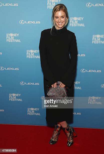 Gracie Otto arrives at the Sydney Film Festival Opening Night Gala at the State Theatre on June 3 2015 in Sydney Australia