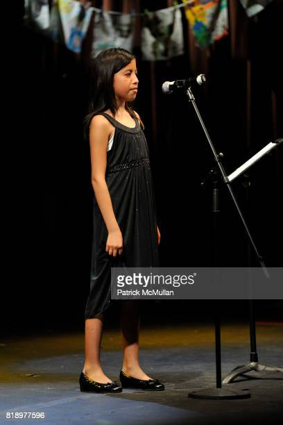 Graciela attends The East Harlem School presents 2010 Spring Poetry Slam at Highline Ballroom on May 4 2010 in New York City