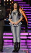 Graciela Beltran participates in premiere of Univision's 'Mira Quien Baila'show on September 14 2013 in Miami Florida