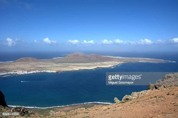 Graciosa Island from Lanzarote