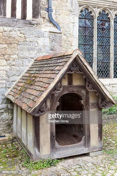Grade 1 listed dog kennel at Ightham Mote, Kent UK