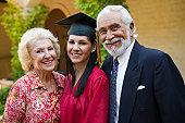 Graduate and Grandparents