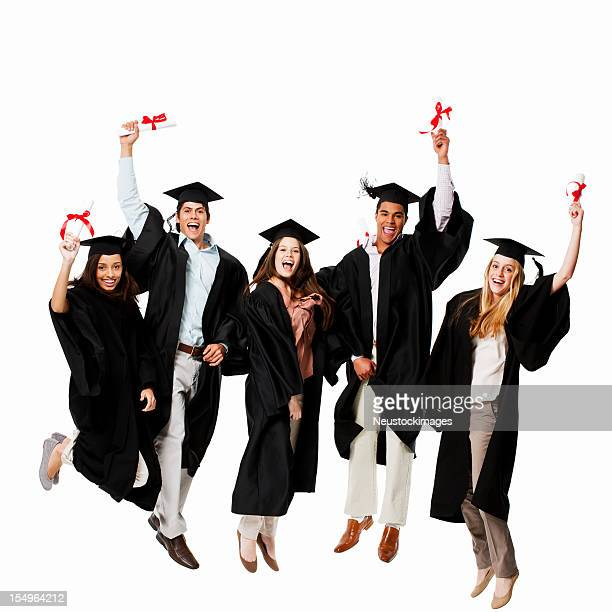 Absolventen Feiern-isoliert