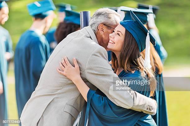 El día de la graduación.