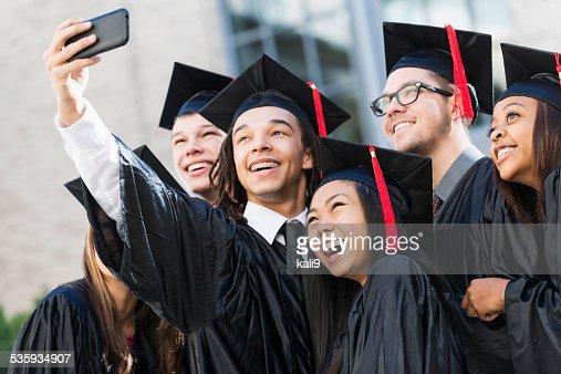 Graduation selfie : Stock Photo