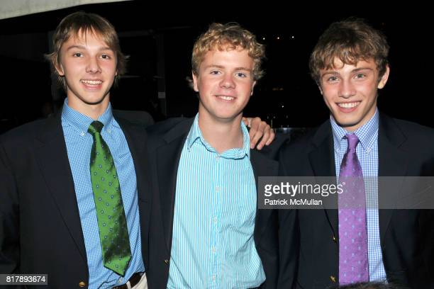 Grady Tom Chip Morris and Tucker Stephens attend ASSOCIATION to BENEFIT CHILDREN Junior Committee Fundraiser at Gansevoort Hotel on September 14 2010...