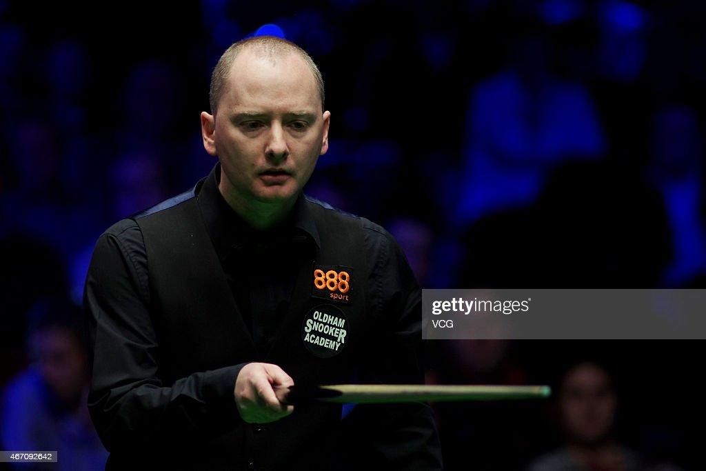2015 Snooker World Grand Prix - Day 5