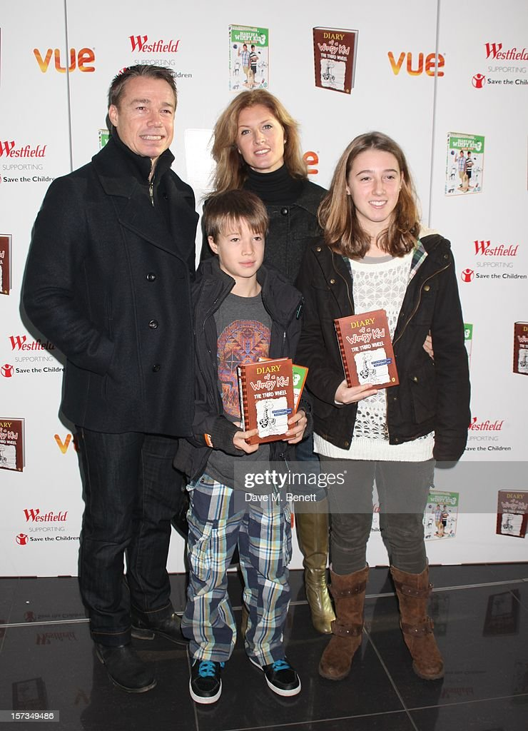 Graeme le Saux attends 'Diary of a Wimpy Kid' UK dvd Premiere at Vue Westfield on December 02, 2012 in London, England.