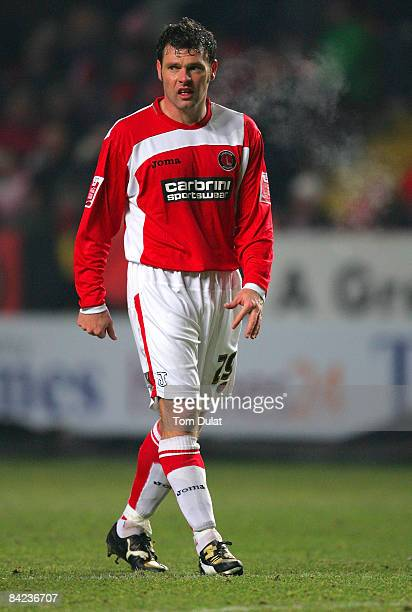 Graeme Murty of Charlton Athletic during the Coca Cola Championship match between Charlton Athletic and Nottingham Forest at The Valley on January 10...