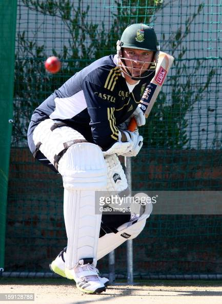Graeme Smith during the South African national cricket team training session at Axxess St Georges on January 08 2013 in Port Elizabeth South Africa