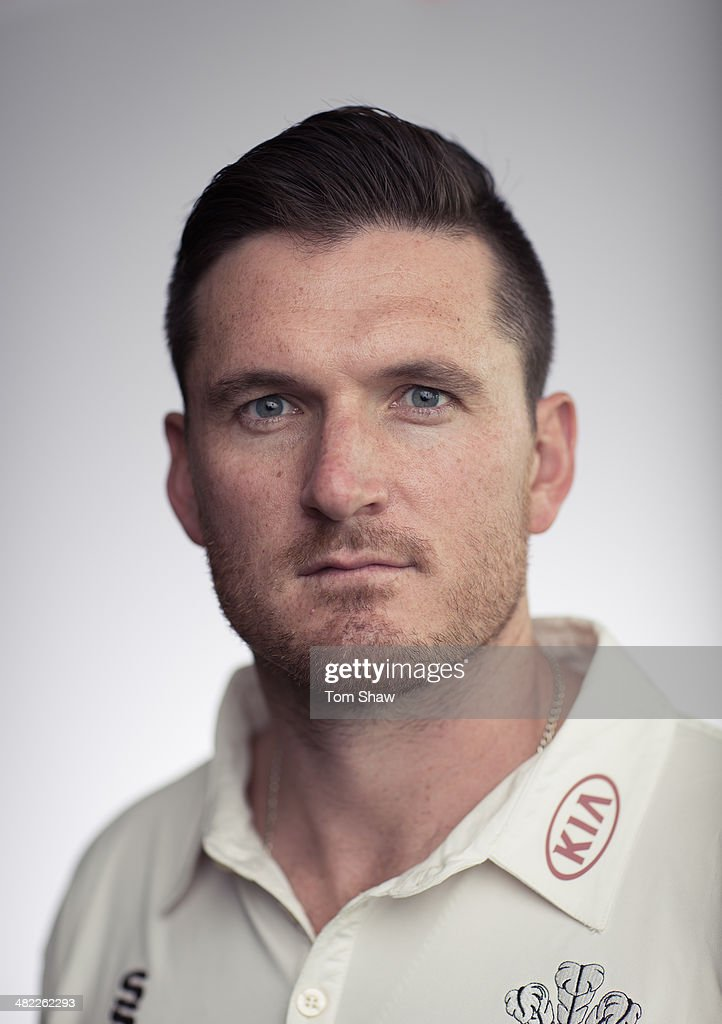<a gi-track='captionPersonalityLinkClicked' href=/galleries/search?phrase=Graeme+Smith&family=editorial&specificpeople=193816 ng-click='$event.stopPropagation()'>Graeme Smith</a> of Surrey poses for a portrait during the Surrey CCC Captains Press Day at The Kia Oval on April 3, 2014 in London, England.