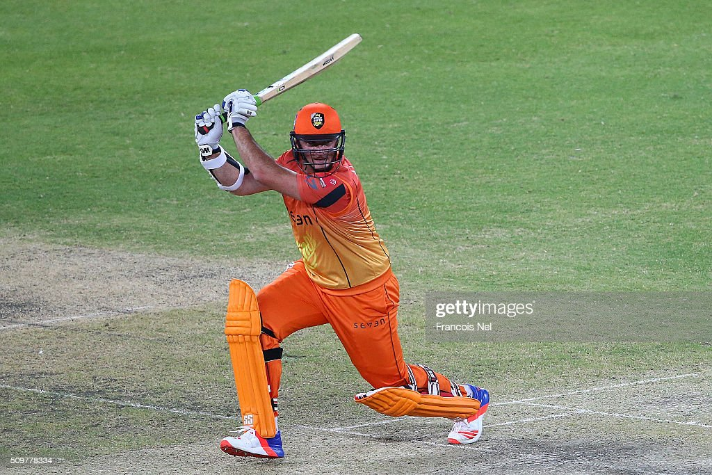 <a gi-track='captionPersonalityLinkClicked' href=/galleries/search?phrase=Graeme+Smith&family=editorial&specificpeople=193816 ng-click='$event.stopPropagation()'>Graeme Smith</a> of Virgo Super Kings bats during the Oxigen Masters Champions League Semi Final match between Leo Lions and Virgo Super Kings at Dubai International Cricket Stadium on February 12, 2016 in Dubai, United Arab Emirates.