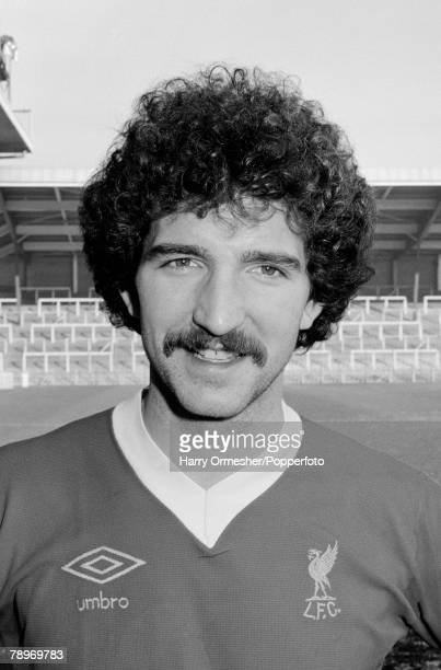 Sport Football January 1978 A portrait of Liverpool FC's Graeme Souness