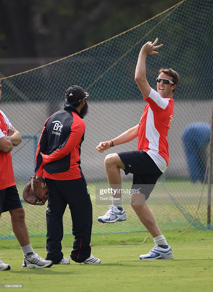 2011 ICC World Cup - England Nets Session