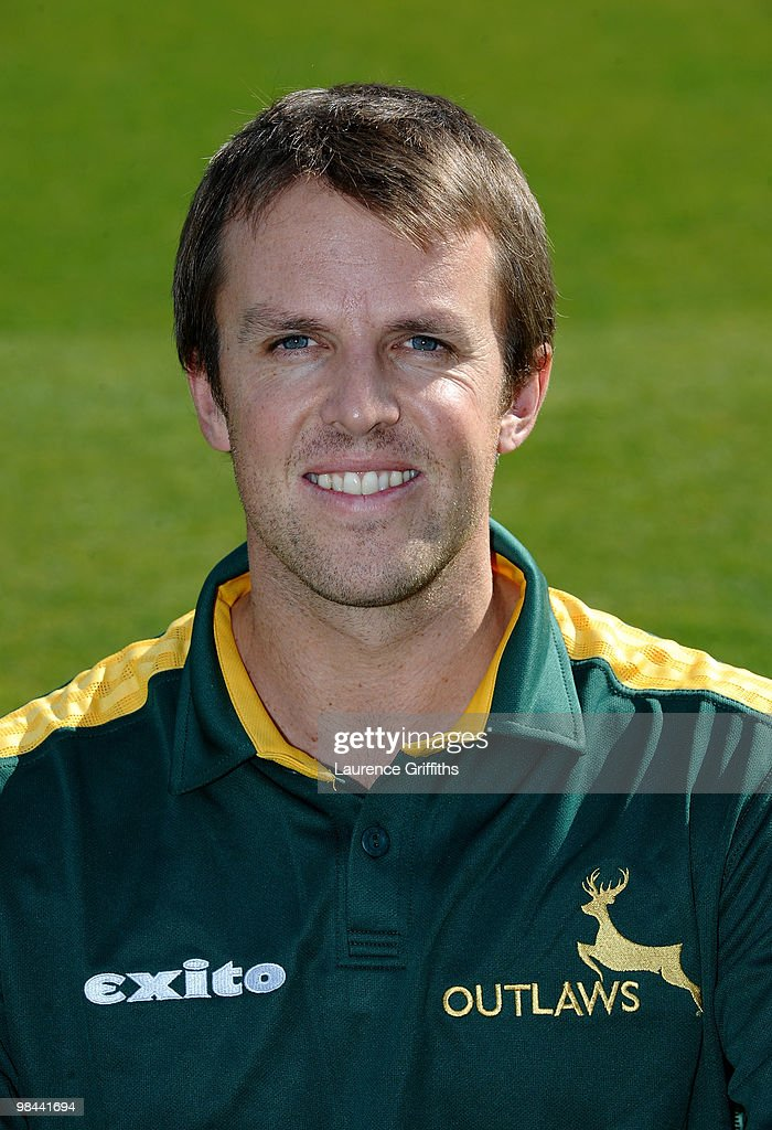Graeme Swann of Nottingamshire CCC poses for a portrait during a Photocall at Trent Bridge on April 13, 2010 in Nottingham, England.