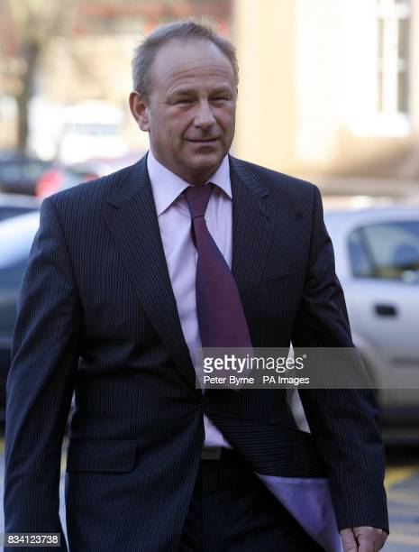 Graeme Walker owner of the Chesterbased firm Sporting Icons Ltd arrives at Chester Crown Court this morning