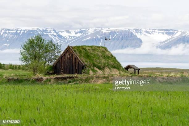 Grafarkirkja turf church, Iceland