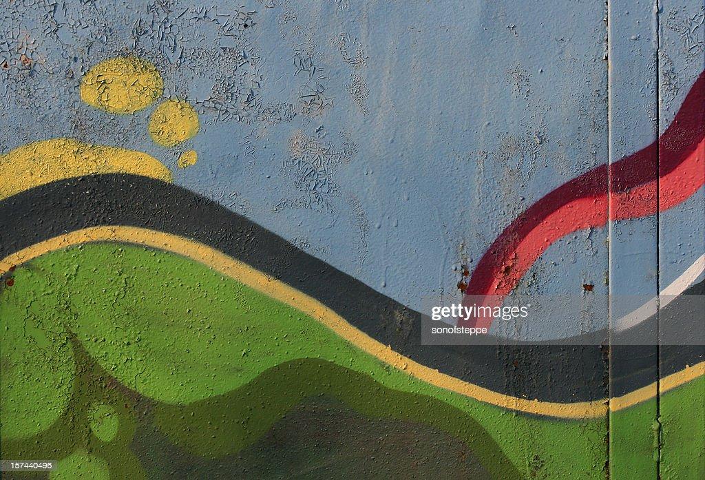 Graffiti Abstraction : Stock Photo
