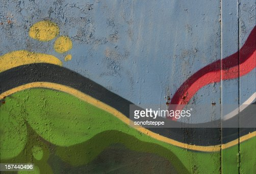 Graffiti Abstraction : Stockfoto