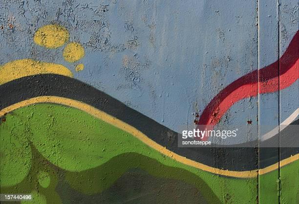 Graffiti astrazione