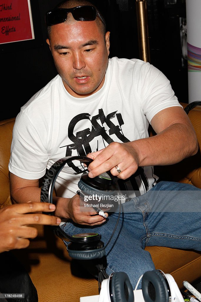Graffiti artist Defer attends the Sean Kingston 'Back 2 Life' Listening Session Presented By Flips Audio at Bootsy Bellows on August 27, 2013 in West Hollywood, California.