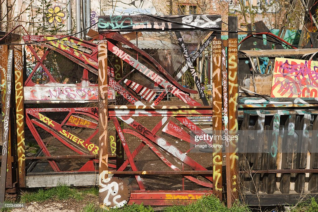 Graffiti, Berlin, Germany : Stock Photo